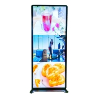 """Quality Shelf Standing 70"""" 1920x540 Digital Poster Led Display for sale"""