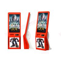 China High quality 32 inch touch screen lobby standing alone cinema ticket vending Kiosk on sale