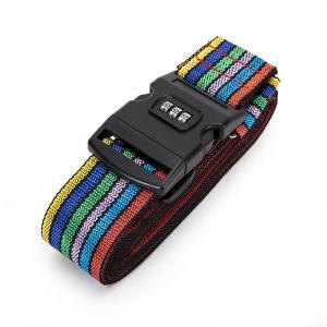 Quality Cross Travel Suitcase Strap Safe Belt Strap Luggage Strap Luggage belt for sale