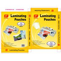 Buy cheap hot laminating pouch film plastic laminating pouches plastic pouch laminating from wholesalers
