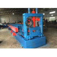 Quality Automatically Z U Channel Purlin Roll Forming Machine Chain or gear box Driven system for sale