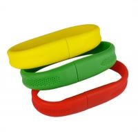 Quality Silicone bracelet usb flash drive for sale