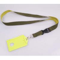 Buy Most Popular hard plastic id card holder lanyard at wholesale prices
