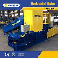 Quality CE Certification Hydraulic Horizontal PET Bottle Compactor for sale