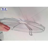 Quality Stainless Steel Ceiling Fan Guard Industrial Net Cover In White Color for sale