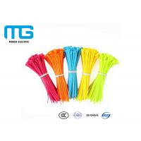 Quality Electrical Wiring Nylon Cable Ties Customized Total Length CE Certified for sale