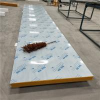 Quality 60kg aluminum steel sheet 1150mm modified eps sandwich panel with gpod thermal insulation for sale