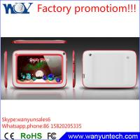 Quality Factory promotion! Dual camera Android Tablet pc 7 inch 512MB 4GB for kids/students for sale