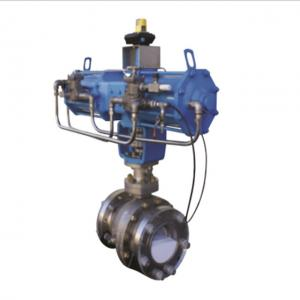 China Wafer Type Flanged SS ASME B16.34 Metal Seated Ball Valves on sale