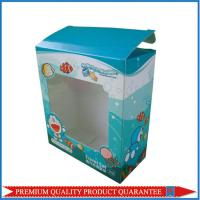 Quality clear window paper custom color box made of high quality white chipboard for sale