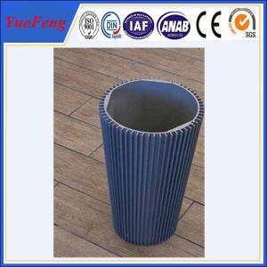 Quality Hot! round aluminum heatsink, hollow aluminum extrusion heat sinks profiles for sale
