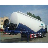 Quality 3 Axles Second Hand Semi Trailers 40000L Tanker Capacity For Oil Transportation for sale