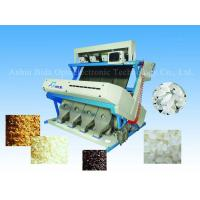 Quality High accuracy CCD rice color sorter machine, color sorting for rice for sale