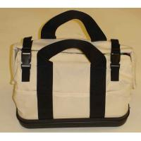 Quality COTTON CANVAS EMBRODIERY APPLIQUE WASHED BAG for sale