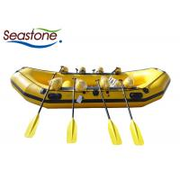 China Leisurely Inflatable Whitewater Kayak Slow Paced Sufficient Space For Family Entertainment on sale