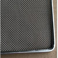 China Frame Wire Mesh Tray For Food Baking , Dehydration , 304 Food Grade on sale