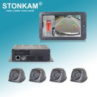 China 1080P HD 360°Around-View System with 4 x Max. 128GB SD Cards for recording on sale