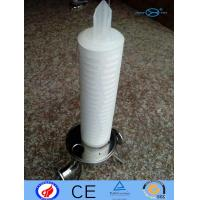 PP Filter Cartridge N6 PTFE With Deep Filtration / Large Filtration Area