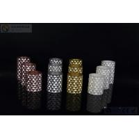 Quality 3 pcs Carved Electric Led Candles with 2*AA Battery Paint Color for sale