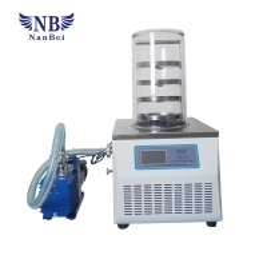 Quality Standard Vacuum Food Lypholizer 0.12m2 Lab Freeze Dryer for sale