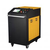 Quality Hand Held 200W Metal Laser Cleaning Machine For Metal Steel With Water Cooling for sale