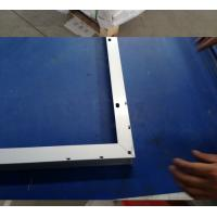 Quality Powder Coating T4 Solar Aluminium Profile Smooth Edges With Customer Drawing for sale