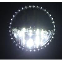 Quality 1 Pair 7 INCH White 30W 6000K Round LED Daytime Running Light DRL Car Fog Day Driving Lamp for sale