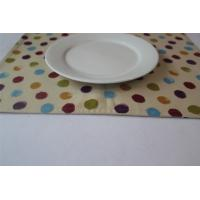 Quality Yellow 100% Cotton Little Dot Dining Room Placemats Kitchen Table Mats for sale