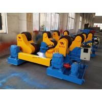 Quality Rubber Coated Pressure Vessels Pipe Turning Rolls 40 Ton Loading Capaicty for sale