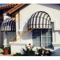 China Ourtdoor Aluminum Manual Retractable  Decorative Dome Window Awning on sale