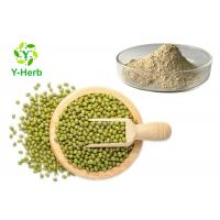 China 80 Mesh Mung Bean Protein Peptide Powder 80% 90% Green Bean Extract on sale
