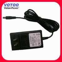 Quality Rack Mount CCTV Camera Power Adapter Supply 12V 2A 100 - 240VAC for sale