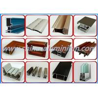 China Decorative Aluminum Window Profile , 6063-T5 Aluminum Window Frame Material on sale