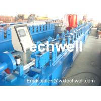 Quality CCr 15 High Grade Steel Rolling Shutter Forming Machine For 5-15m/min Forming Speed for sale