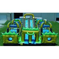 China Outdoor Inflatables Obstacle Course, Inflatable tunnel Games Rentals for Kids on sale