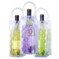Quality Eco Friendly Plastic Wine Cooler Bag EN-71 Certificated For Outdoor Picnics for sale