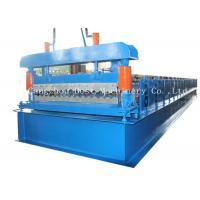 Quality Corrugated Automatic Roofing Sheet Roll Forming Machine 380v 50HZ Frequency for sale