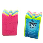 Quality Food Grade Rigid Plastic Reusable Ice Blocks Freezer Ice Bricks for sale