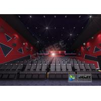Quality 55 Inch Display 60 People 4D Digital Cinema Equipment With Blue Color 4 Motion Seat for sale