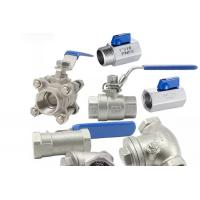 Threaded Female One Piece Stainless Steel Valves For Hydraulic Engineering for sale