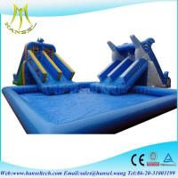 Quality Hansel Perfect customized inflatable water park games inflatable water games for sale