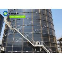 Quality 20000m3 Glass Fused To Steel Silo Conforming To AWWA D103–09 / OSHA Standard for sale