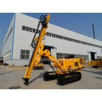 China Dry Hydraulic Dust Collector Blast Hole Drill Rigs for Blasthole Drilling Civil Engineering on sale