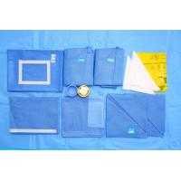 Quality Blue CE EO Sterile SMMS Disposable Surgical Packs Hospital OB Pack for sale