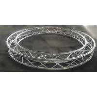Quality φ3M SN300mm*300mm Circle Aluminum Silver Portable Stage Truss , Anomaly Truss For Events for sale