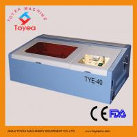 Quality Stamp mini laser engraving machine TYE-40 for sale
