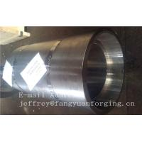Quality 16Mo3 Steel Forged Ring Forged Cylinder Flange Heat Treatment And Machined for sale