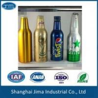Quality Screen Printing Aluminum Beer Bottles Empty Beer Bottles With Screw Cap for sale
