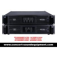 China FP10000Q FP14000 Switch Mode Power Amplifier For Line Array Speaker / Subwoofer on sale
