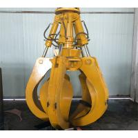 Quality Heavy Excavator Grapple With Five - Petal For Construction Sites Of Bulk Waste for sale